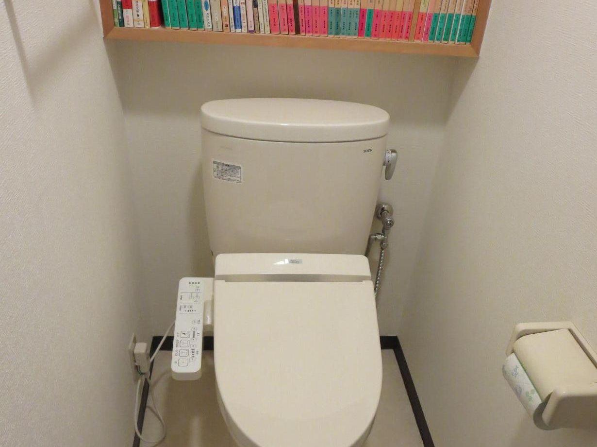 東京都 北区 田端 節水型トイレリフォーム クッションフロア張り替え