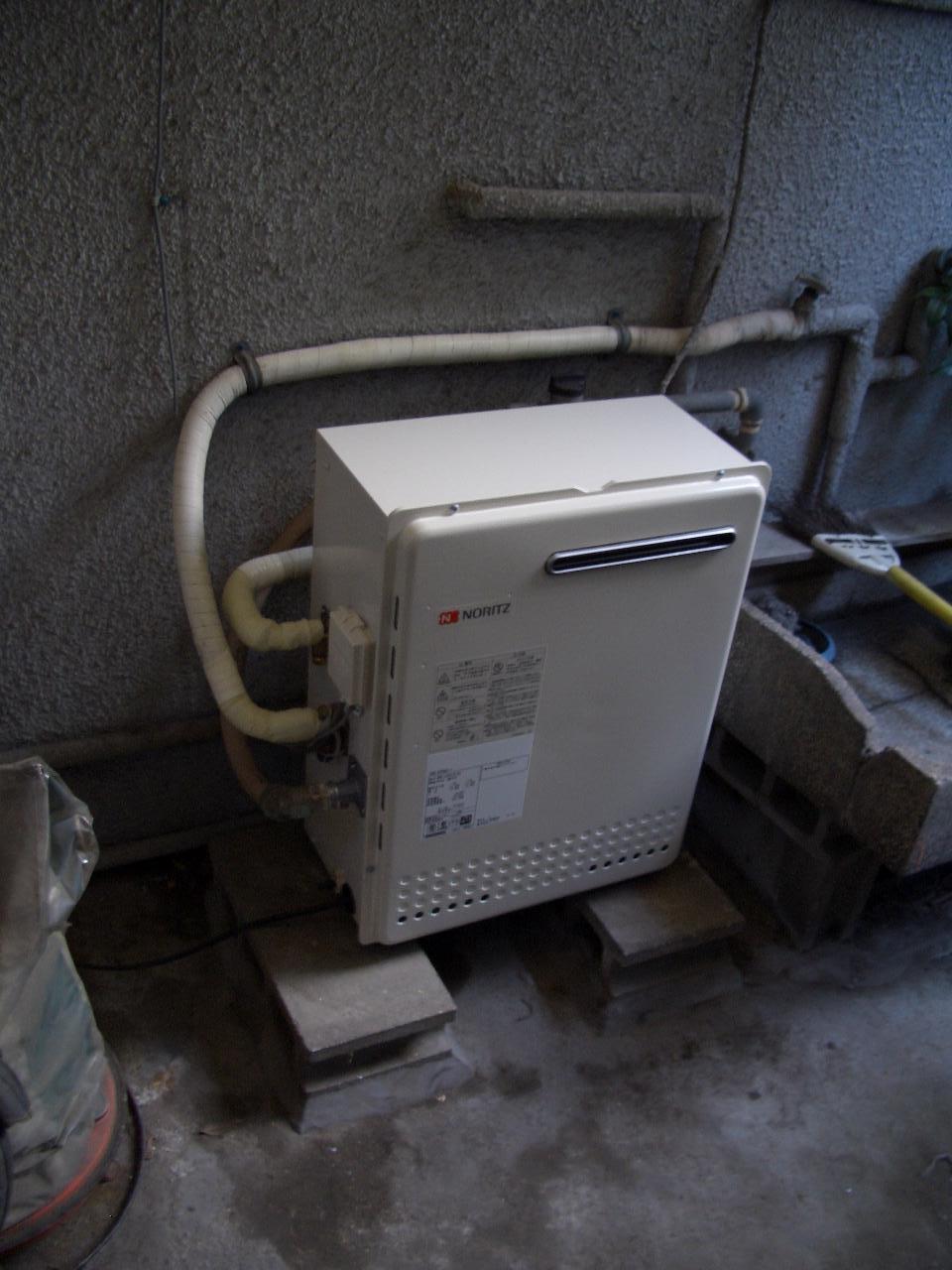 給湯器交換 東京都 北区で
