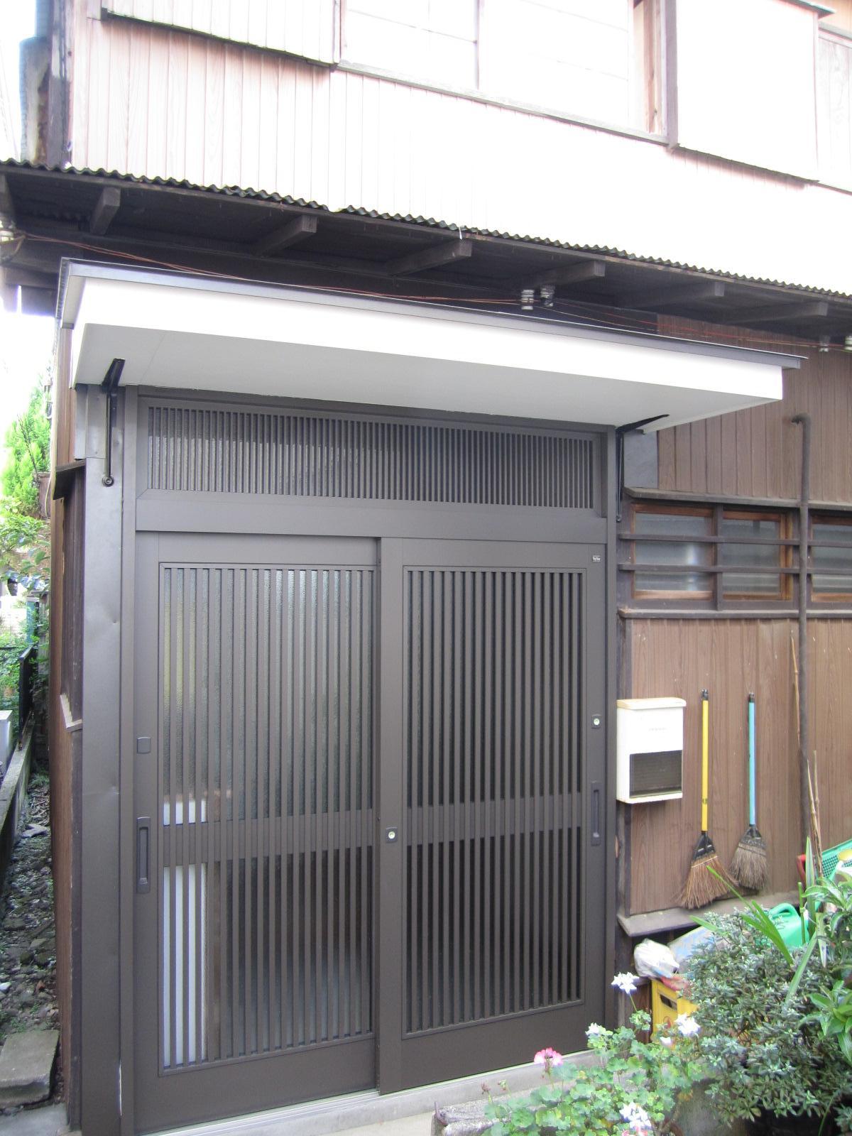 東京都 北区 玄関リフォーム