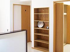 東京都 足立区  キッチン 自然素材リフォーム