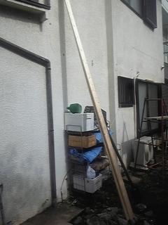 北区 テラス屋根